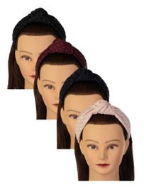 Riqki Girls Headband - HB1924 - Quilted Turban Knot