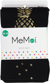 Memoi Girls Printed Pineapple Tights - MKF-4014