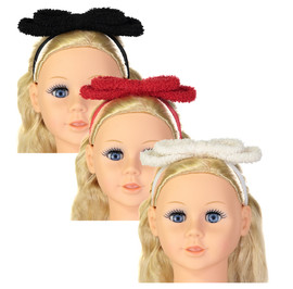 Dazzle Baby Girls Sheep Bow Headband - 7034bb