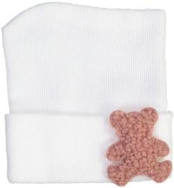 Terriberry Baby Fuzzy Bear Hospital Hat
