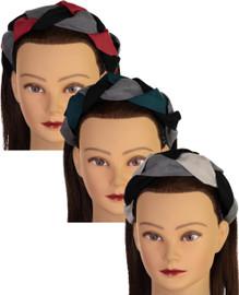 Riqki Girls Braided Suede Headband - FH633