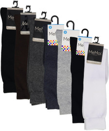 Memoi Girls Cotton Knee Socks - MK-5056