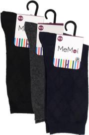 Memoi Boys All Over Argyle Dress Socks - MK-143