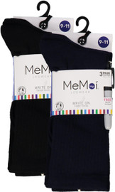 Memoi Boys Write-on Camp Socks with Marker 3 Pack - Promo 810