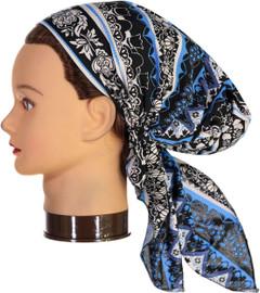 Riqki Womens Ornate Pre-Tied Bandana - PTBL1041
