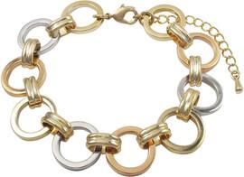 DluxJewels Bracelet - B4359-B-TRI