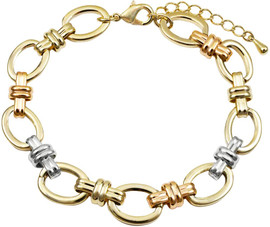 DluxJewels Bracelet - B4581-B-TRI
