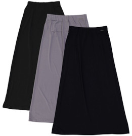 BGDK Girl's Long Slinky Skirt