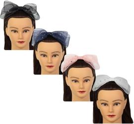 Riqki Girls Mesh Star Sparkle Headband - HB2009