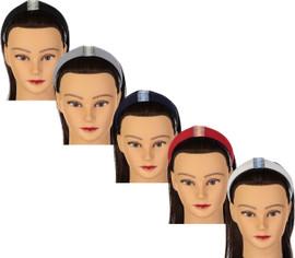Riqki Girls Multi Stripe Wide Headband - HB2016
