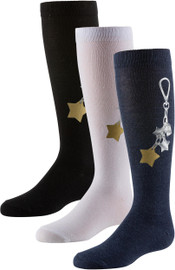 Zubii Girls Zubii Star Keychain Knee Socks - 661