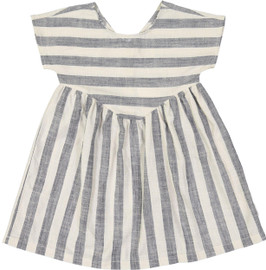 Hux Girls Stripe Yoke Dress - HB1544