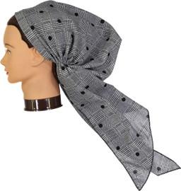Riqki Womens Pre-Tied Bandana - PTBL1059 - Long Tails