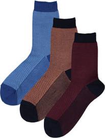 Condor Boys Pique Bicolor Ankle Socks - 2349/4