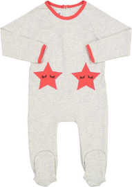 Blinqi Baby Girls Sleeping Star Cotton Stretchie - 706