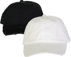 Riqki Womens Baseball Cap - Ripped Patches