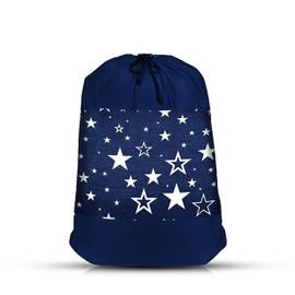 Top Trenz Navy Star Mesh Laundry Bag - LDRY2-STAR