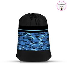 Top Trenz BLUE Camoflauge Mesh Laundry Bag - LDRY-BCAMO