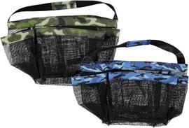 Top Trenz Blue Camo Mesh Shower Caddy - CAD4-BCAMO