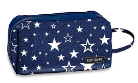 Top Trenz Navy Star Cosmetic Bag - COS4-STAR