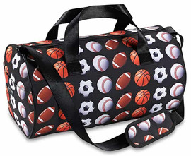Top Trenz Sports Print Duffle Bag - SPORT2DUFF