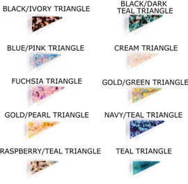 Acrylic Resin Triangle Clips
