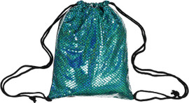 Michelle Iridescent Mermaid Drawstring Backpack - BGE1061