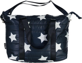 Top Trenz Navy Star Tote Bag - TOTE-PUF3(STAR)