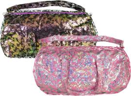 Maniere Iridescent Butterflies Duffle Bag - IBP18