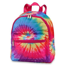 Top Trenz Spiral Tie Dye Puffer Mini Backpack - MINIB-TDYE3