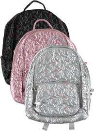 Bari Lynn Star Stitched Backpack