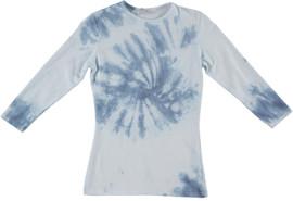 Kiki Riki Womens 3/4 Sleeve Tie Dye T-Shirt - 29273