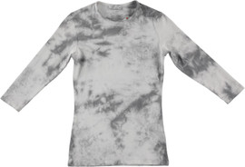 Kiki Riki Womens 3/4 Sleeve Tie Dye T-Shirt - 29285