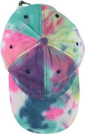 Riqki Womens Dark Tie Dye Cap - HS2021