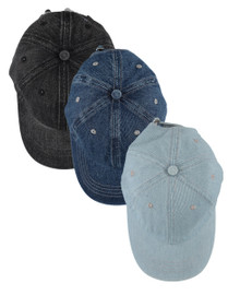 Riqki Womens Denimwash Cap - HS2026