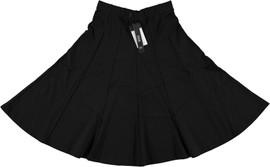 BGDK Womens 27 inch Lycra Panel Skirt - BK-5023A