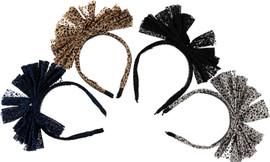 Dacee Leopard Bow Headband - C1441