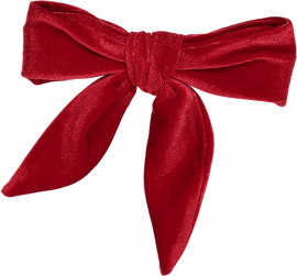 Dacee Velvet Bow Small Clip- AS1430