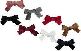 Dacee Velvet Classic Bow Small Clip - AS1424