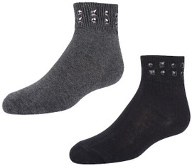 Zubii Mixed Shape Stud Ankle - 206