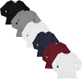 Jupe Womens Modal Long Sleeve T-shirt - JH-264