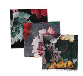 Riqki Open Multicolor Flowers Israeli Tichel - Y1981