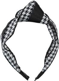 Riqki Girls Houndstooth Turban Headband - HB2021-B