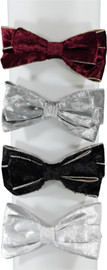 Riqki Girls Crushed Velvet Top Bow Headband - HB2023