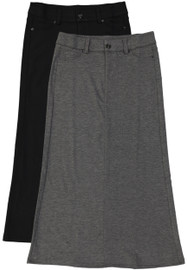 Kiki Riki Long Straight Viscose Skirt