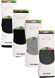Zubii Girls Thin Ribbed Tights - 150RET