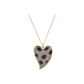 Tilyon Leopard Heart Necklace - NK-3118