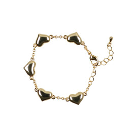 Tilyon Puffy Teen Heart Bracelet - BR-1802-B