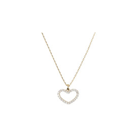 Tilyon CZ Heart Necklace - NK-3126