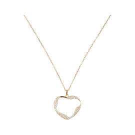 Tilyon Twist Heart Necklace - NK-3130